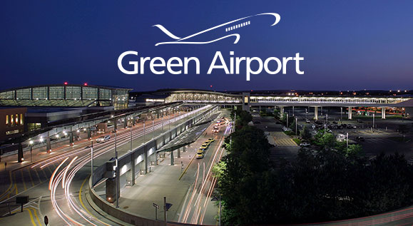 Green Airport website designed by CC inspire